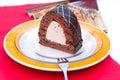 Hungarian chocolate cake Royalty Free Stock Photo