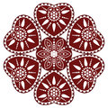 Hungarian folk ornament Royalty Free Stock Photography