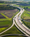 Hungarian highway Royalty Free Stock Photography