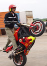 Hungarian kunmadaras airport stunt show Stock Photography