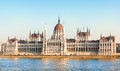 Hungarian Parliament Building, Budapest Royalty Free Stock Photo