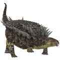 Hungarosaurus herbivore dinosaur was an ankylosaur herbivorous that lived in hungary during the cretaceous period Royalty Free Stock Photo