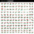 Hungary flag, vector illustration
