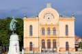 Hungary pecs city in baranya county famous synagogue Stock Photos