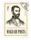 Hungary postmark Stock Images