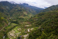 The hungduan rice terraces at hapao built years ago are located near banaue in ifugao province one of the land locked provinces in Royalty Free Stock Photo