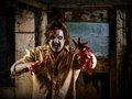 Hungry zombie coming to eat your brain photo of a about attack you slight noise visible Stock Photos