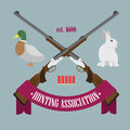 Hunting Association logo Stock Photography