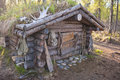 Hunting cabin Royalty Free Stock Image