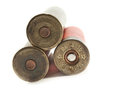 Hunting cartridges for shotgun 16 caliber Royalty Free Stock Photography