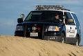 Huntington Beach Police Beach Patrol Stock Image