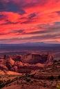Hunts Mesa navajo tribal majesty place near Monument Valley, Ari Royalty Free Stock Photo