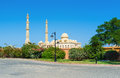 Hurghada mosque Royalty Free Stock Photo