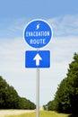 Hurikán evakuace trasa