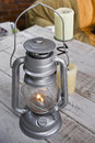 Hurricane Lantern Royalty Free Stock Photography