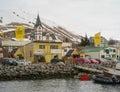Husavik iceland town in northern Royalty Free Stock Photos