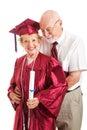 Husband Congratulates College Graduate Wife Royalty Free Stock Photo
