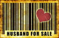 Husband For Sale Royalty Free Stock Photo