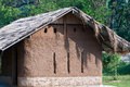 Hut huts made of clay in chiang mai Stock Photo