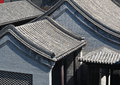 Hutong and allery in beijing is alley it was first originated the yuan dynasty there are more than the hietory both sides are Stock Image