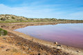 Hutt Lagoon Royalty Free Stock Photo
