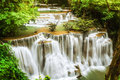 Huymea-kamin Waterfall i Stock Images