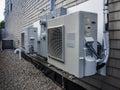 HVAC units for restaurant Royalty Free Stock Photo