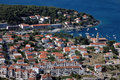 Hvar and its marine Royalty Free Stock Photos