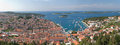 Hvar panorama Royalty Free Stock Photos