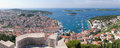 Hvar panorama Stock Photo