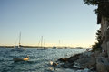 Hvar sunset Royalty Free Stock Photo