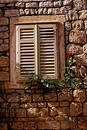Hvar Window Royalty Free Stock Image