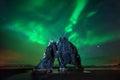 Hvitserkur aurora