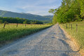 Hyatt lane cades cove spring landscape of great smoky mountains national park tennessee usa Royalty Free Stock Photos