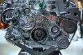 Hybrid engine Royalty Free Stock Photo