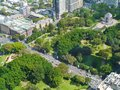 Hyde park from above Stock Photography
