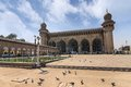 Hyderabad india mecca masjid at Stock Image