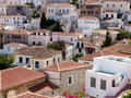 Hydra Island, Greece - View of the town Royalty Free Stock Photography