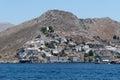 Hydra island the village of greece Royalty Free Stock Photo