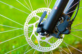 Hydraulic disc brake Stock Photography