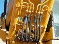 Hydraulic System Royalty Free Stock Photo
