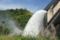 Hydro electric dam Royalty Free Stock Photo