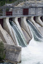Hydro Electric Generator Dam Royalty Free Stock Photography
