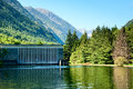 Hydro electric plant south France Royalty Free Stock Images