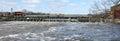 Hydro electric power dam Royalty Free Stock Photo