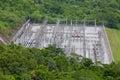 Hydro Power Electric Dam Royalty Free Stock Photo