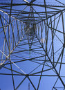 Hydro Towers Wire Steel Power Energy Royalty Free Stock Photo