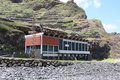 Hydroelectric power station ribeira da janela portugal madeira on august nd Stock Image