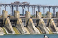 Hydroelectric pumped storage power plant Royalty Free Stock Photos