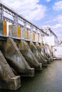 Hydroelectric pumped storage Royalty Free Stock Photo